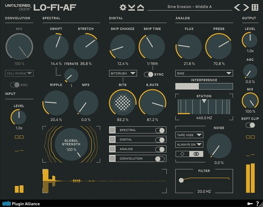 Unfiltered Audio LO-FI-AF Review - Top 11 Plugin Alliance Plugins 2021 (And 5 Best Effects)   Integraudio.com