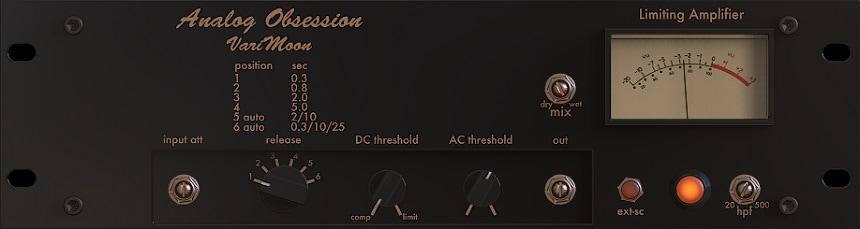 Analog Obsession Varimoon) - The 2 Best Free Vari Mu Compressor Plugins | Integraudio.com