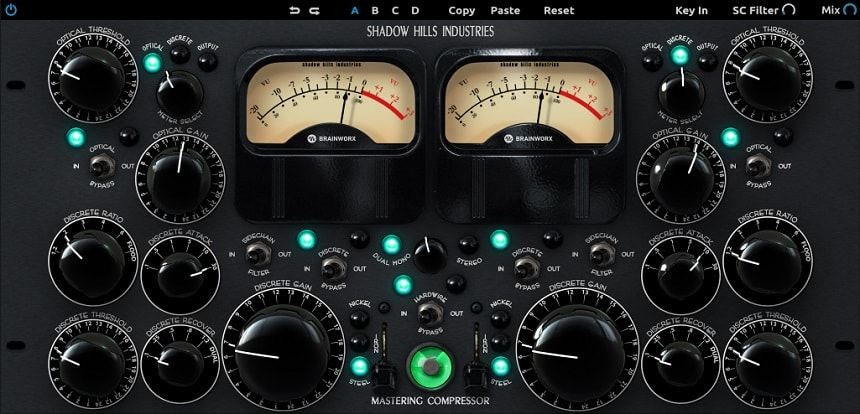 Shadow Hills Mastering Compressor - Top 11 Plugin Alliance Plugins 2021 (And 5 Free Effects)   Integraudio.com