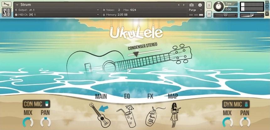 UKULELE by Splash Sound Review - Best Ukulele Libraries   Integraudio.com