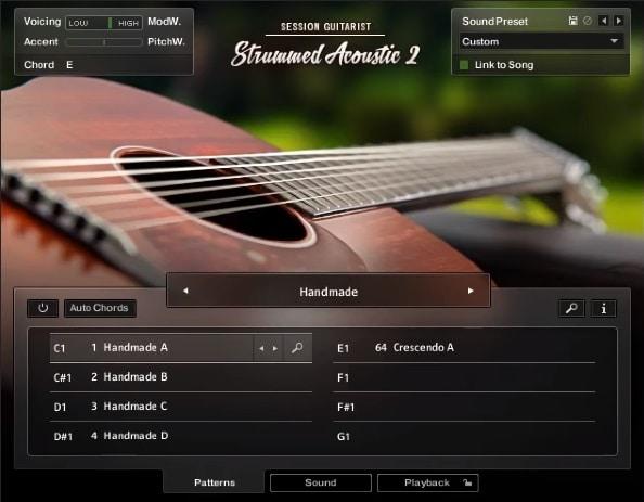 NI Session Guitarist: Strummed Acoustic 2 - Top 10 Guitar Kontakt Libraries (Best Acoustic, Electric, Bass Guitars & Freebies)   Integraudio.com