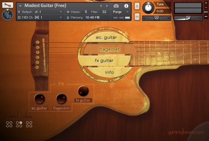 YummyBeats Modest Guitar Review - The 3 Best Free Guitar Libraries For NI Kontakt   Integraudio.com