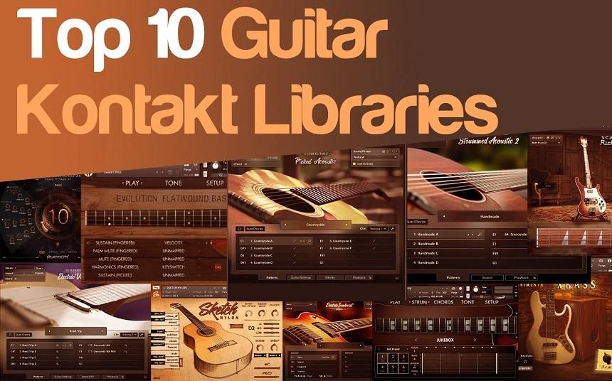 Top 10 Guitar Kontakt Libraries (Acoustic, Electric, Bass & Freebies) | Integraudio.com