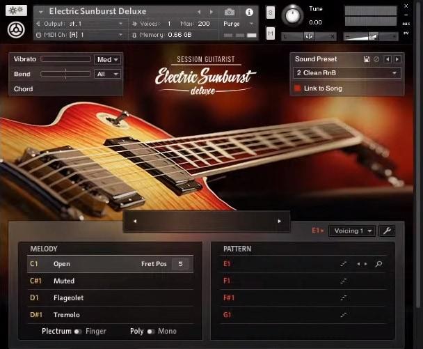 NI Electric Sunburst Deluxe Review - Top 10 Guitar Kontakt Libraries (Best Acoustic, Electric, Bass Guitars & Freebies)   Integraudio.com