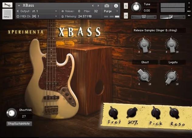 XPERIMENTA XBass Review - Top 10 Guitar Kontakt Libraries (Best Acoustic, Electric, Bass Guitars & Freebies)   Integraudio.com