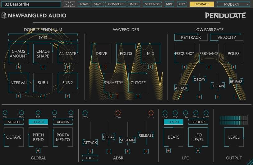 Newfangled Audio Pendulate - 10 Best FREE Plugins For EDM | Integraudio.com