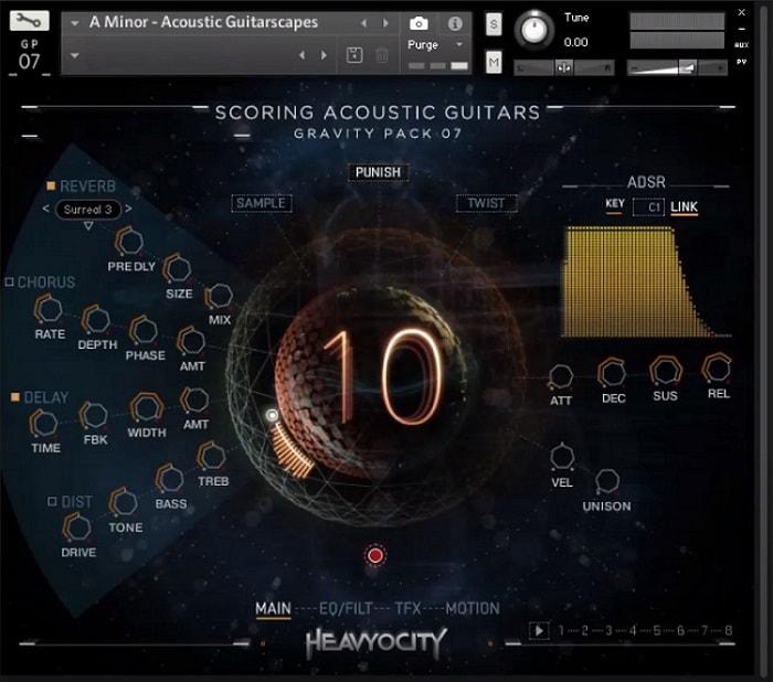 Heavyocity Scoring Acoustic Guitars Review - Top 10 Guitar Kontakt Libraries (Best Acoustic, Electric, Bass Guitars & Freebies)   Integraudio.com