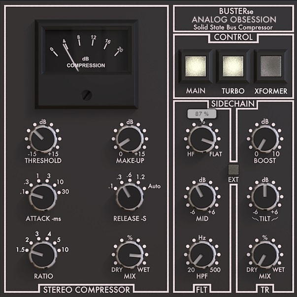 Analog Obsession BusterSE - 10 Best FREE Plugins For EDM | Integraudio.com